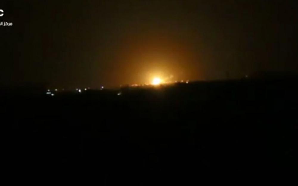 Israël aurait mené un raid aérien provoquant une