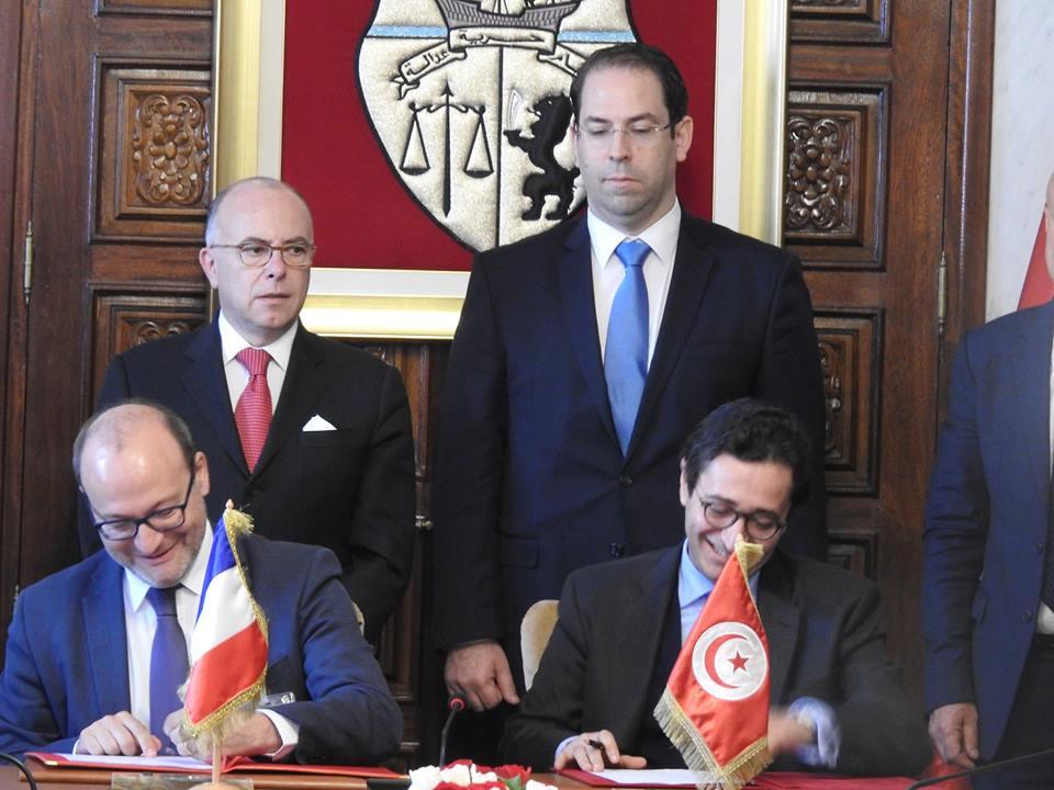 La Tunisie et la France signent six accords de coopération