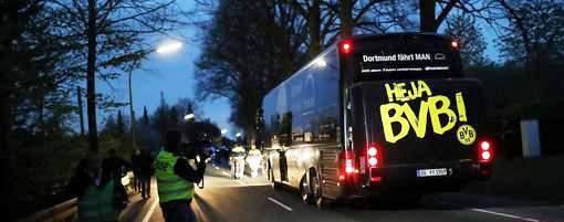 Les nationalités des suspects de l'attentat contre le bus du Borussia Dortmund