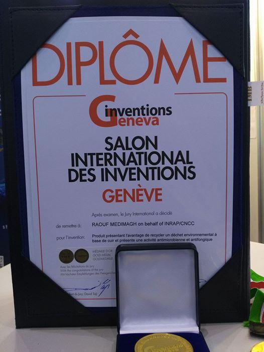 Gen ve photos les tunisiens d crochent quatre - Salon de l invention ...