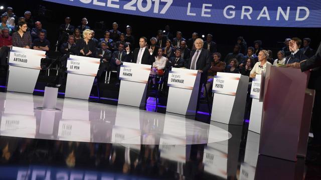 Le Grand débat de la présidentielle française: Ce qu'il faut retenir!