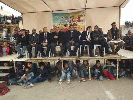 Tunisie-Photo du Jour: Le podium atypique du Festival International de Matmata