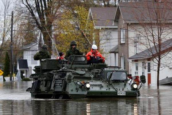 Canada[Photos]: Etat d'urgence à Montréal en raison des inondations