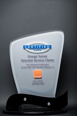 Service client orange tunisie. La datation.