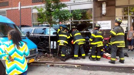 FLASH INFO : USA : Une voiture fonce dans la foule à Manhattan