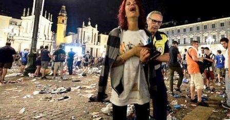 URGENT : Italie : des dizaines de blessés dans une bousculade à cause d'une déflagration