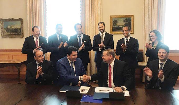 tunisie signature d 39 un accord de coop ration technique avec boeing en marge de la visite de. Black Bedroom Furniture Sets. Home Design Ideas