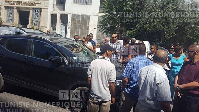 Tunisie vid o photos protestations du personnel de la - Peut on porter plainte contre un membre de sa famille ...