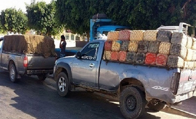 Tunisie: Saisie d'une importante quantité d'essence de contrebande à Remada