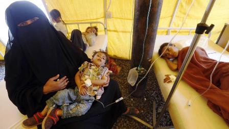 Yemen : Le choléra fait près de deux mille victimes
