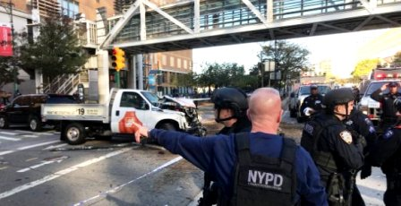 Intervention policière à New York