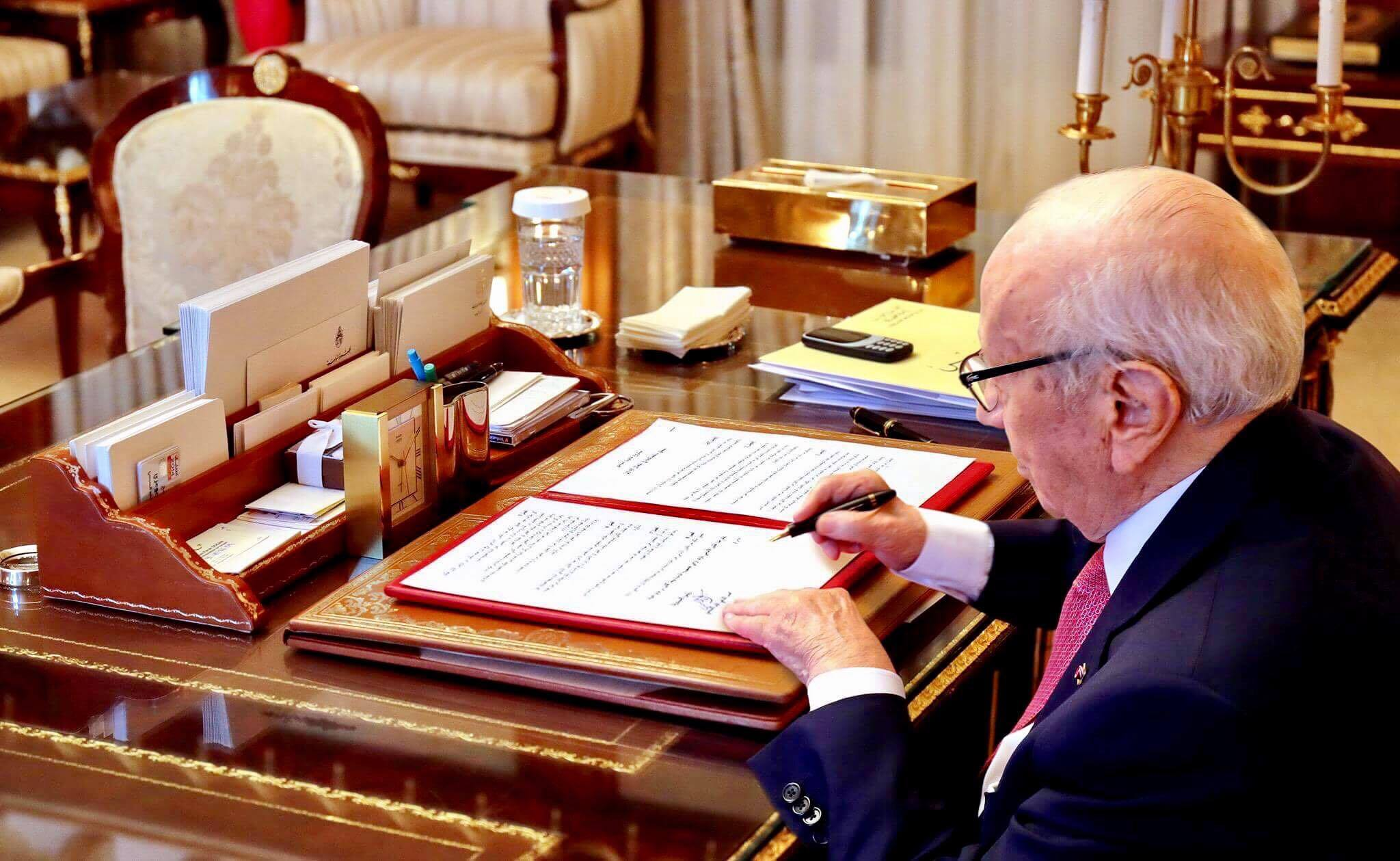Tunisie: Béji Caïd Essebsi signe la loi de la réconciliation administrative