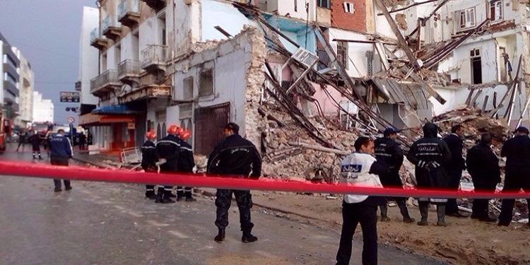 Effondrement d'un immeuble à Sousse, ouverture d'une affaire pour homicide — Tunisie