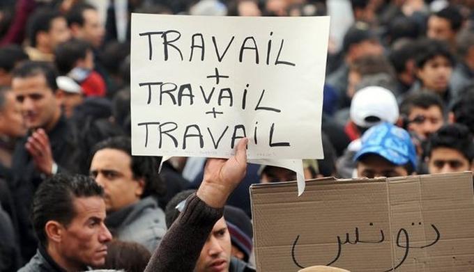 Tunisie : Taux de chômage estimé à 15,3% au 3e trimestre 2017