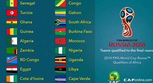 Liminatoires de la coupe du monde 2018 zone afrique programme de la derniere journ e - Programme de la coupe d afrique ...