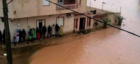 Tunisie – Mareth : Découverte du cadavre d'un homme emporté par une crue d'Oued