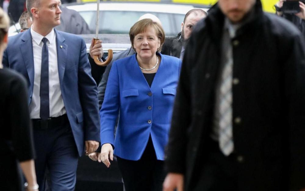 Allemagne: Merkel obtient un accord pour la formation d'une coalition gouvernementale