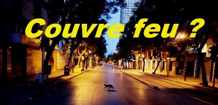 Tunisie : Les quatre gouverneurs du grand Tunis examinent, actuellement, la prolongation du couvre-feu
