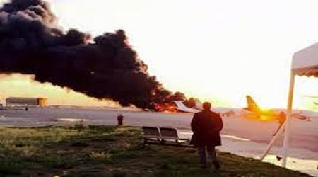 Combats meurtriers près de l'aéroport de Tripoli — Libye
