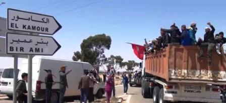 Tunisie – Les protestataires d'Al Kamour menacent !