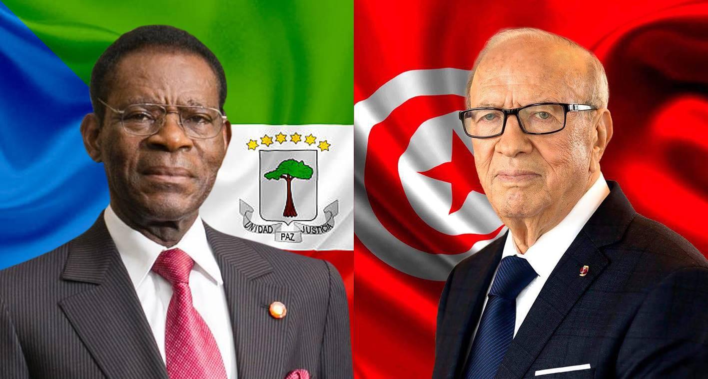 Le président équato-guinéen en visite officielle de trois jours — Tunisie