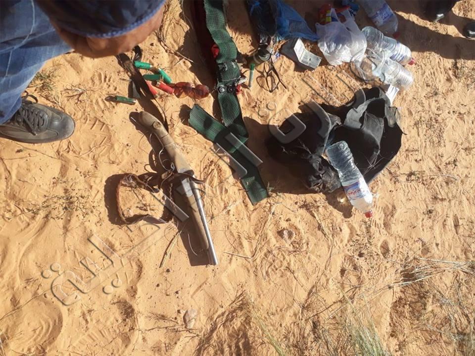 Tunisie [Photos] : Le ministère de l'intérieur publie des photos des équipements des deux terroristes abattus