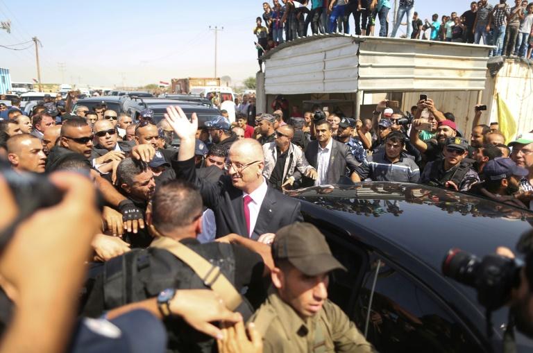 Explosion au passage du Premier ministre palestinien — Gaza