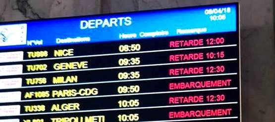 Tunisair: Encore et toujours, les retards légendaires du vol TU 338 d'Alger