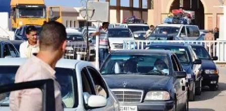 Tunisie – Suspension du trafic au passage frontalier de Dhehiba