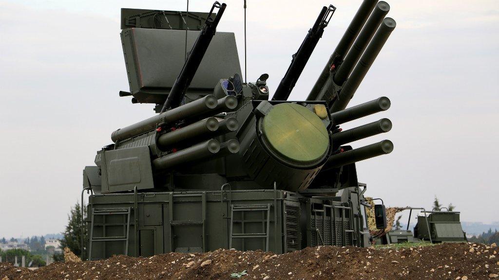 Syrie: Interception de missiles au dessus de la province de Homs