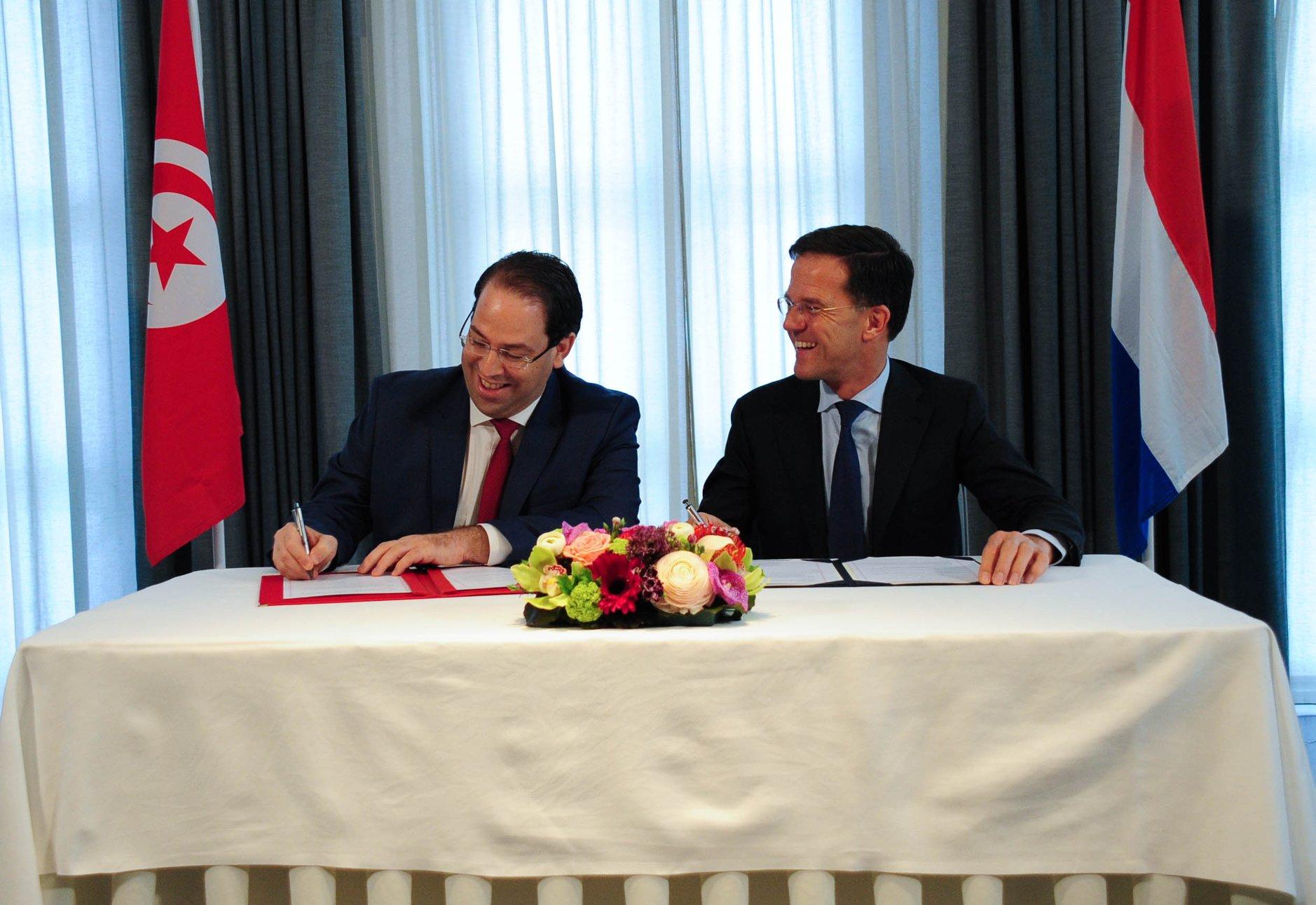 Signature d'accords entre la Tunisie et les Pays-bas dans plusieurs domaines
