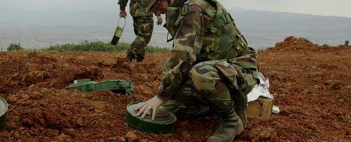 Tunisie – Kasserine : Les démineurs de l'armée réussissent à neutraliser sept mines anti-personnelles