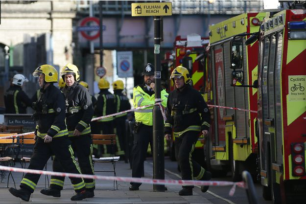Londres : une explosion fait une trentaine de blessés
