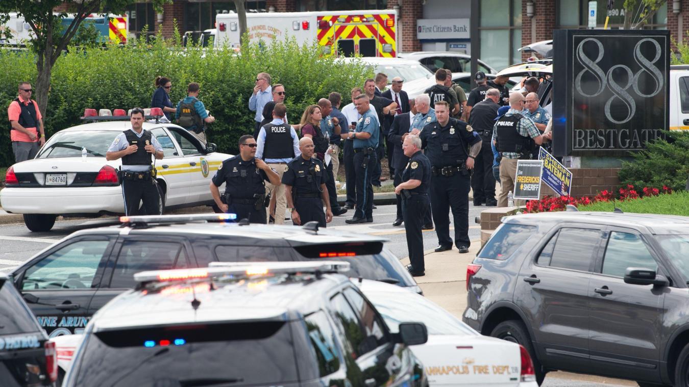 États-Unis : cinq morts et deux blessés dans une fusillade au Maryland