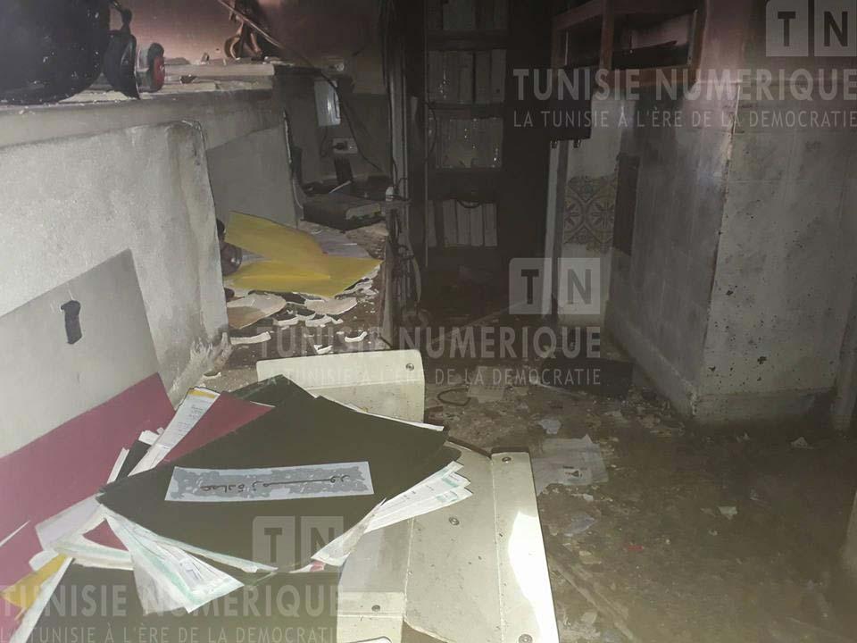 Tunisie [Audio + Photo]: Ceux qui ont incendié le poste de la garde nationale et le siège de la délégation de Beni Khedech, dévoilés