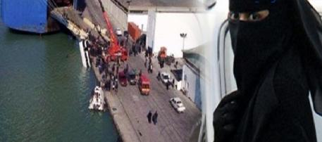 Tunisie – Port de La Goulette: çà chauffe autour du refoulement d'une allemande niquabée