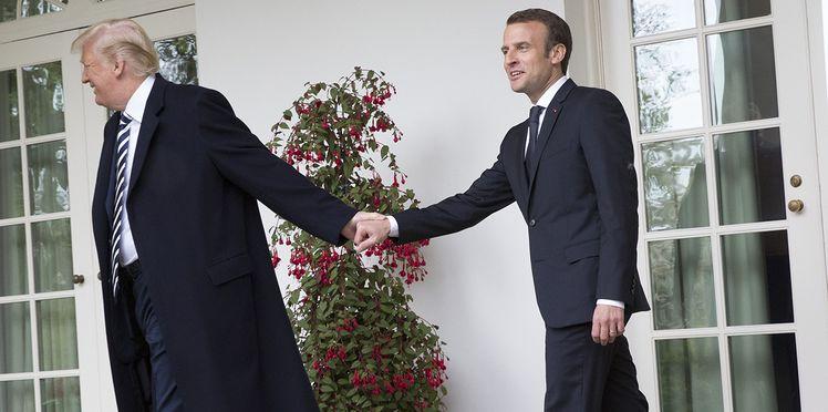 Le premier ministre Emmanuel Macron: Est-ce un lapsus de Trump?