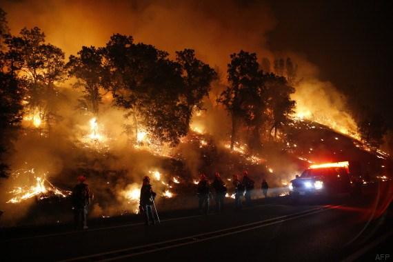 La sécheresse alimente des incendies meurtriers — Californie