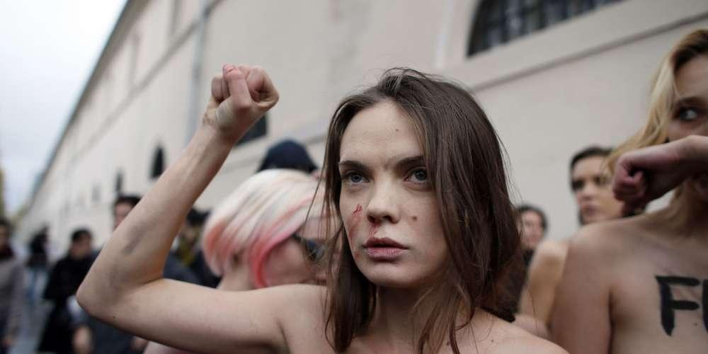 La cofondatrice des Femen retrouvée morte à Paris