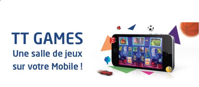tunisie telecom lance son nouveau service de jeux vid o tt games. Black Bedroom Furniture Sets. Home Design Ideas