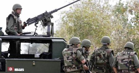 Tunisie – Kasserine: L'armée a tué plusieurs terroristes et blessé certains autres au cours d'un pilonnage du Mont Mghilla