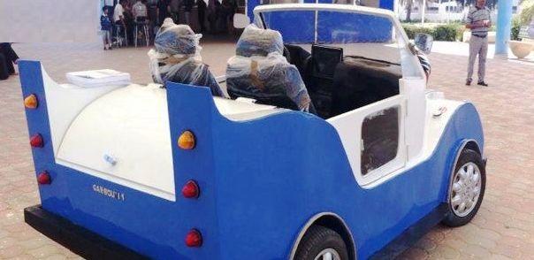Kairouan: Un jeune tunisien construit une voiture à 100% tunisienne, le ministère des transports lui refuse l'autorisation de la commercialiser
