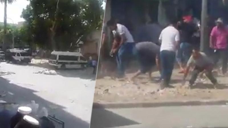 Tunisie: Gaz lacrymogène pour disperser les marchands ambulant à Bab El Jazira