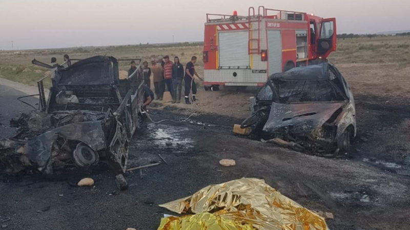 Tunisie: Décès de 4 individus calcinés dans un accident de la route impliquant deux véhicules de contrebande