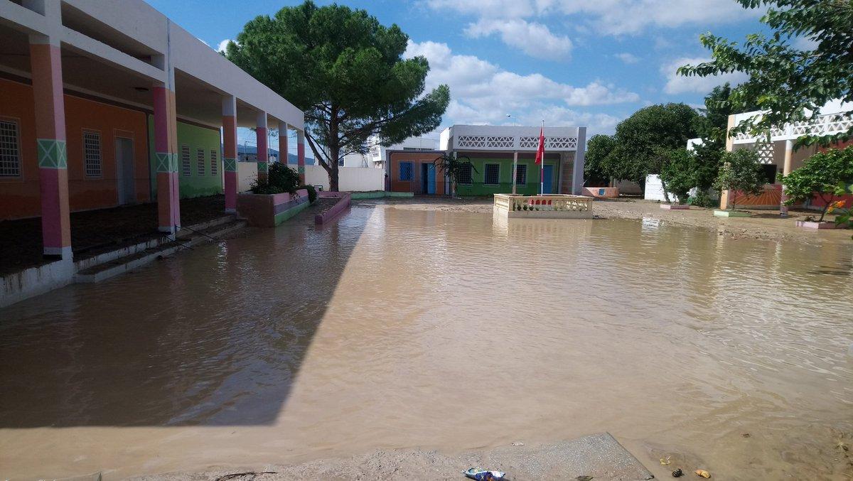 Tunisie: Suspension des cours dans certaines écoles de Nabeul en raison des fortes pluies