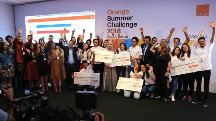 Tunisie – Orange Summer Challenge 2018 : des jeunes développeurs mettent leur savoir-faire au service de 5 startup