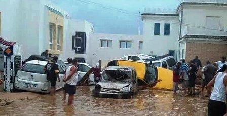 Tunisie – Don de la croix rouge chinoise de 100.000 DT au profit des victimes des inondations à Nabeul