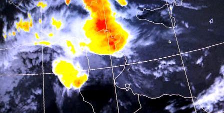Tunisie – URGENT: Mise à jour du bulletin Météo: Alerte sur la région du Jerid
