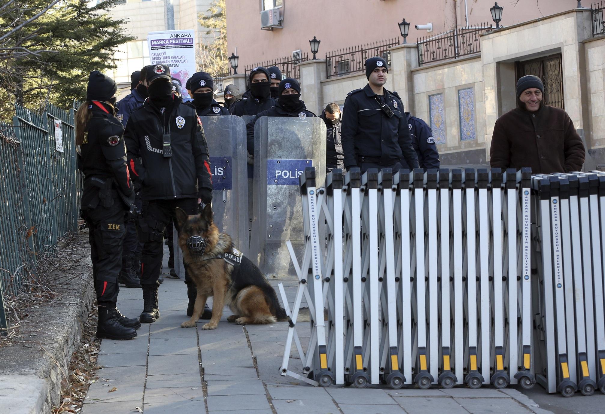 Turquie: Evacuation de l'ambassade d'Iran à Ankara en raison de la présence d'un Kamikaze