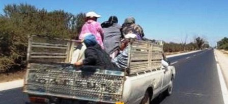 Tunisie – Kairouan: Blessure de dix ouvrières agricoles dans un accident de la route